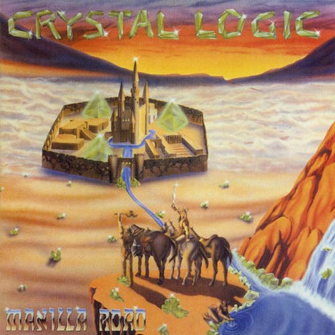 Manilla Road - Crystal Logic LP (blue vinyl)