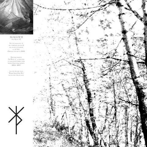 "Agalloch - The White EP (12"" EP, Ltd. Deluxe 180g Clear/Smoke Gatefold Vinyl + Download)"