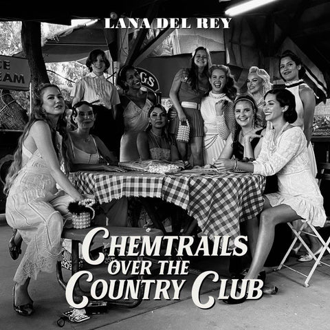 Lana Del Rey - Chemtrails Over The Country Club (LP, indies-only yellow vinyl)