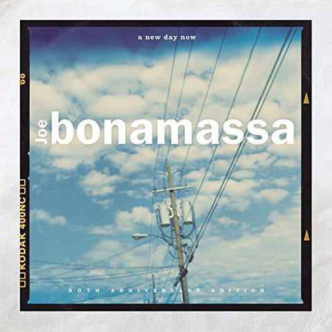 Joe Bonamassa - A New Day Now (LP, blue vinyl, 20th Anniversary Edition)
