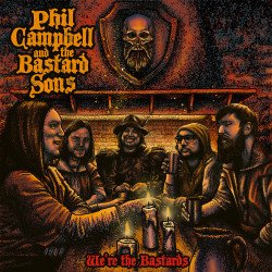 Phil Campbell and the Bastard Sons - We're The Bastards (2xLP, Sparkle vinyl)
