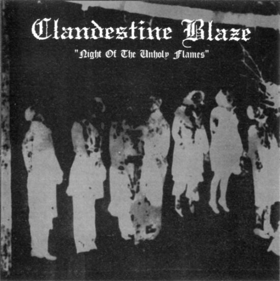 Clandestine Blaze - Night of the Unholy Flames (LP)