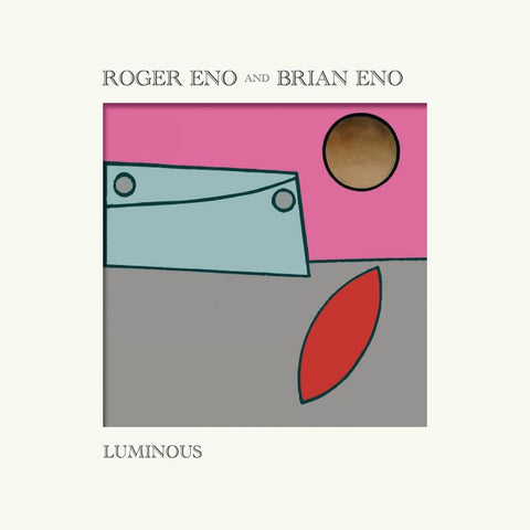 Roger Eno & Brian Eno - Luminous (LP, Sun Yellow vinyl/alt artwork)