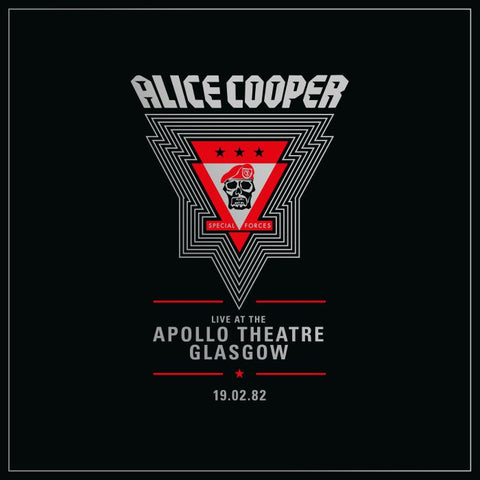 [RSD20] Alice Cooper - Live at the Apollo Theatre, Glasgow: 19.02.82 (2xLP)