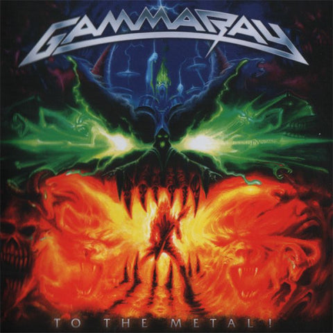 [RSD20] Gamma Ray - To the Metal! (2xLP, Orange vinyl)