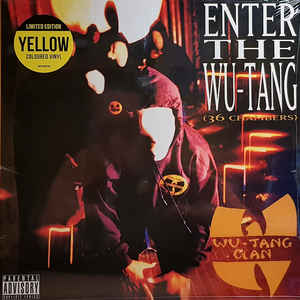 Wu-Tang Clan - Enter The Wu-Tang (36 Chambers) (LP. yellow vinyl)