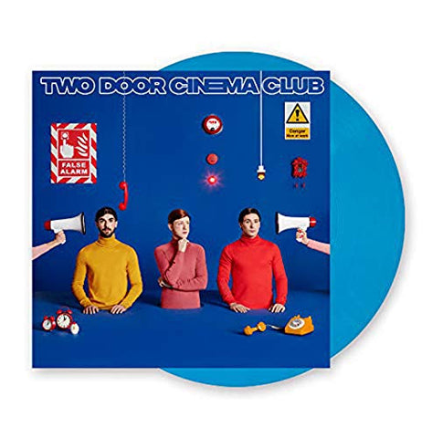 Two Door Cinema Club ‎– False Alarm (LP, Blue Vinyl)