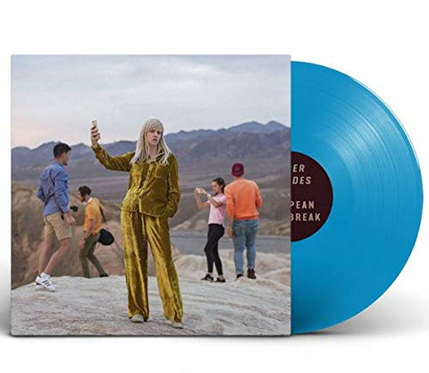 Amber Arcades - European Heartbreak (LP, Blue Vinyl)
