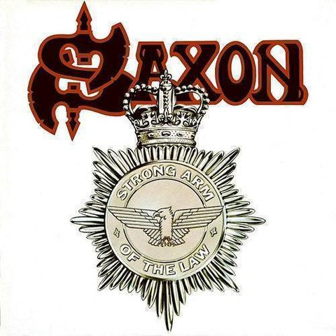 Saxon - Strong Arm Of The Law (LP, Ltd, Red, White & Black splatter vinyl)