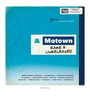 Various Artists - Motown Rare & Unreleased (LP)
