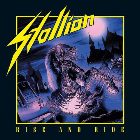 Stallion - Rise And Ride LP (yellow vinyl)
