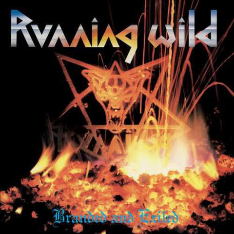 PREORDER - Running Wild - Branded and Exiled LP 180g
