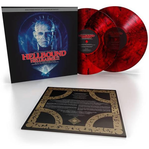 Christopher Young - Hellbound: Hellraiser II (Original Soundtrack: Anniversary) (2xLP, Black/Red Smoke Vinyl)