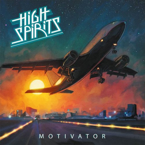 High Spirits - Motivator LP (Ultra Clear Vinyl)