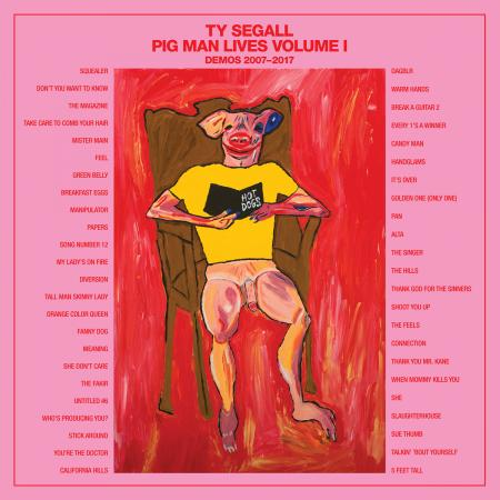 Ty Segall - Pig Man Lives, Volume 1: Demos 2007-2017 (4xLP)