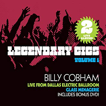 Billy Cobham - Legendary Gigs Volume 1 (3xCD + DVD)