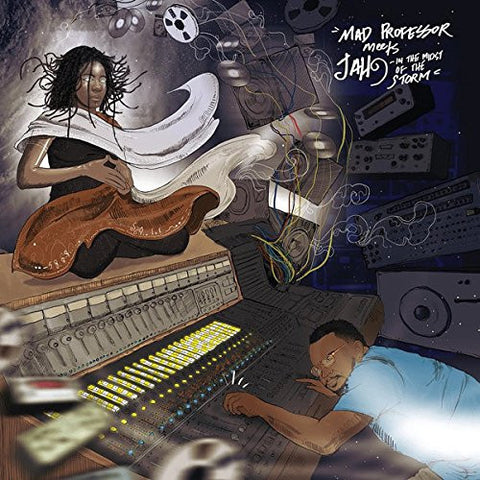 PREORDER - Mad Professor meets Jah9 - Mad Professor Meets Jah9 In The Midst Of The Storm LP