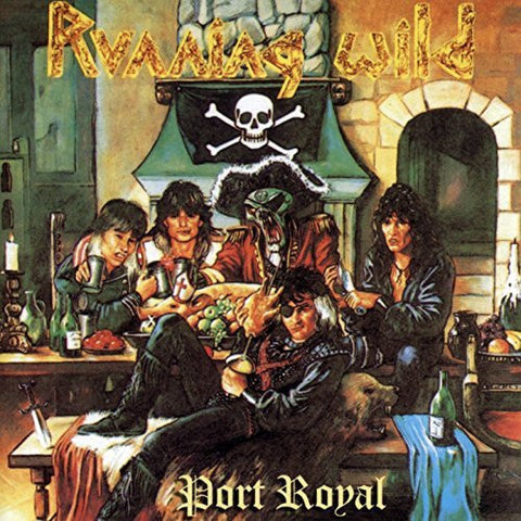 PREORDER - Running Wild - Port Royal LP 180g