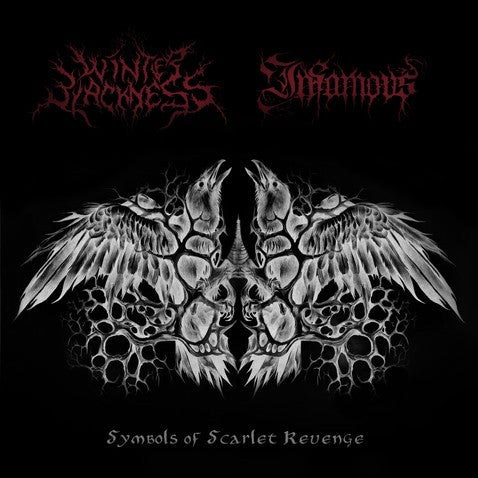 Winter Blackness / Infamous - Symbols Of Scarlet Revenge 7""