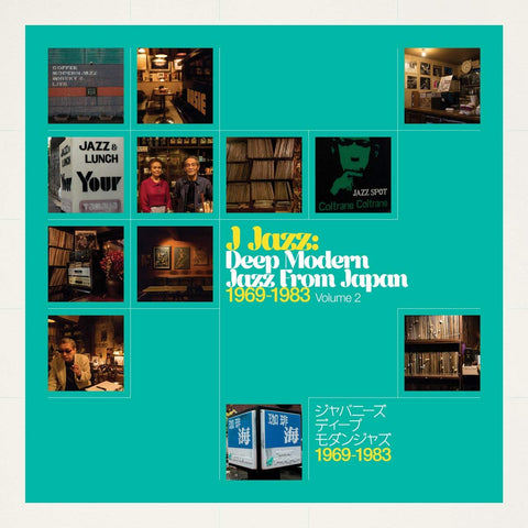 Various - J Jazz: Deep Modern Jazz From Japan [1969 - 1983, Volume 2] (2xLP)