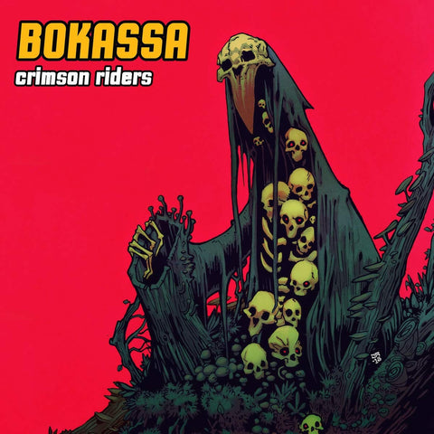 Bokassa - Crimson Riders (LP)