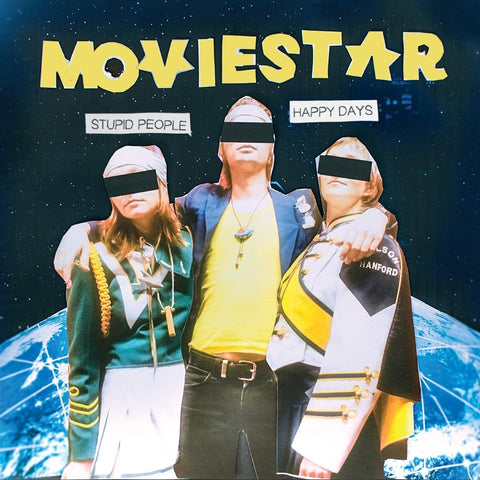 Moviestar - Stupid People Happy Days (LP)