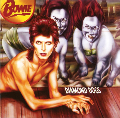 David Bowie - Diamond Dogs: 45th Anniversary (LP, Ltd. Red Vinyl)