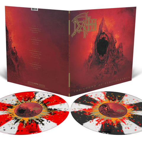 Death - The Sound Of Perseverance (2xLP, Clear w/ Pinwheels & Splatter)