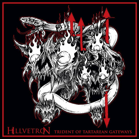 Hellvetron - Trident Of Tartarian Gateways (CD)
