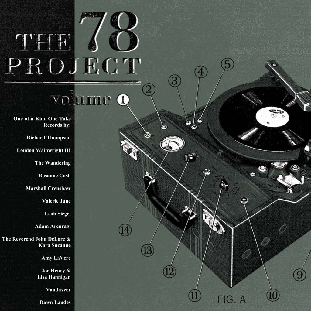 Various Artists - The 78 Project Volume 1