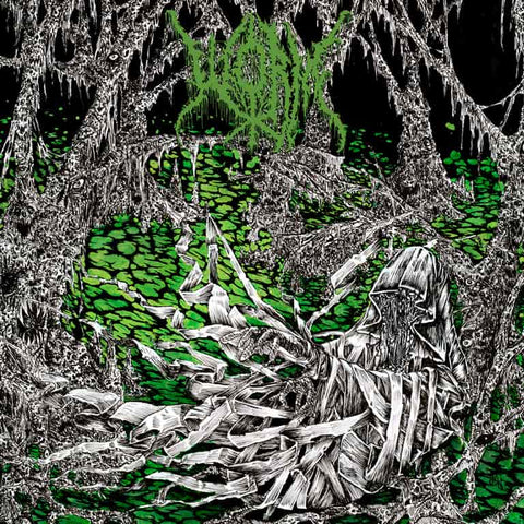 Worm - Gloomlord (LP, Glow In The Dark vinyl)