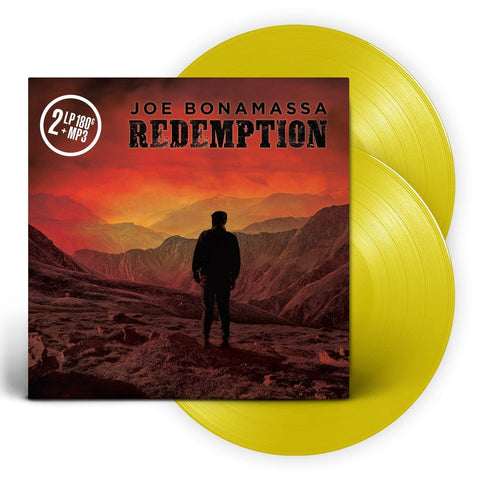 Joe Bonamassa - Redemption (2xLP, 180g Yellow Vinyl + D/L)