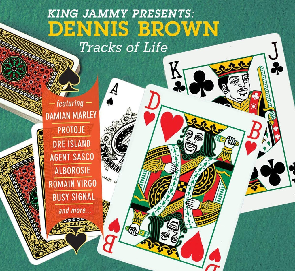 "Dennis Brown - King Jammy Presents: Dennis Brown Tracks Of Life (LP + 7"")"