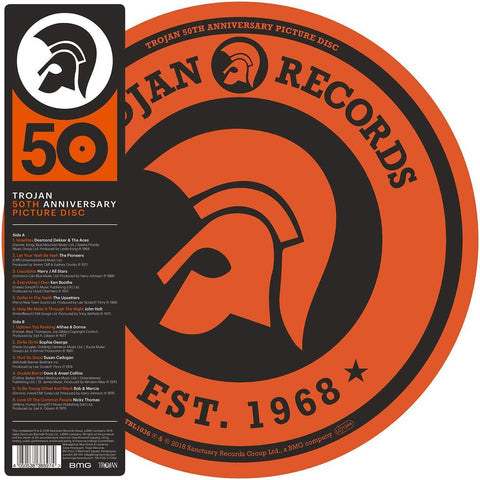 Various - Trojan 50th Anniversary Picture Disc (LP, Picture Disc)