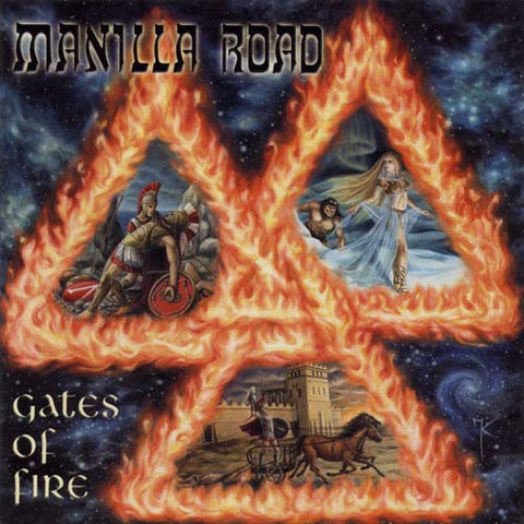 Manilla Road - Gates Of Fire (Yellow vinyl) 2xLP