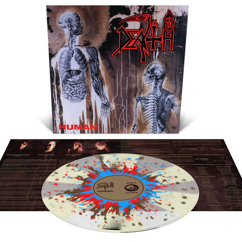 Death - Human (LP, Clear w/ Pinwheels & Splatter)