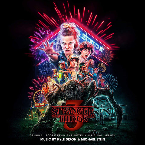 Kyle Dixon & Michael Stein - Stranger Things 3 (Original Score) (2xLP, Gatefold, Heavyweight, Neon Pink Vinyl)