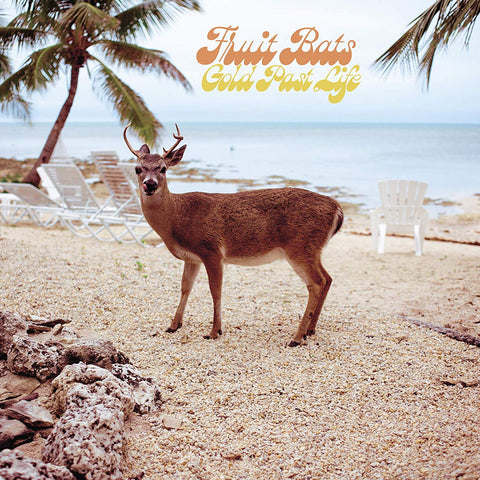 "Fruit Bats - Gold Past Life (LP, Aqua Vinyl + 7"")"