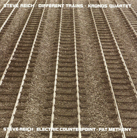 Steve Reich - Different Trains / Electric Counterpoint (LP, Ltd. 140g Vinyl)