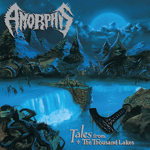 Amorphis - Tales From The Thousand Lakes (LP, Ltd. Aqua Blue vinyl)