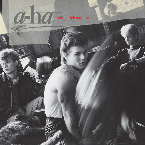 PREORDER - A-ha - Hunting High And Low (LP, Clear Vinyl)