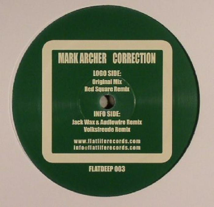 Mark Archer – Correction 12""