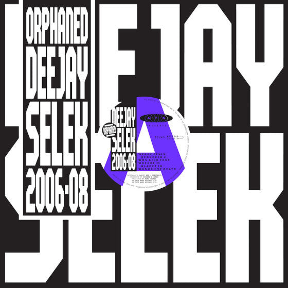 AFX (Aphex Twin) - Orphaned Deejay Selek 2006-08 (LP)