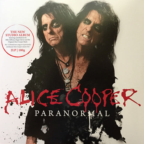 Alice Cooper - Paranormal (2xLP, Bonus CD)