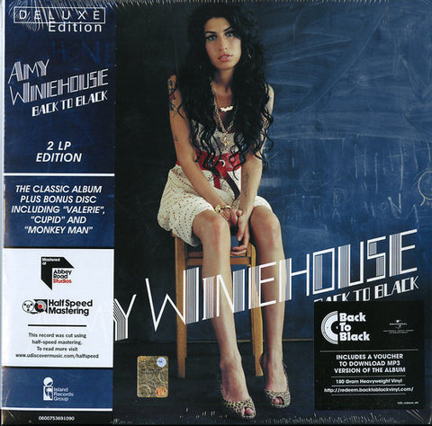 Amy Winehouse - Back To Black (2xLP, Deluxe version)