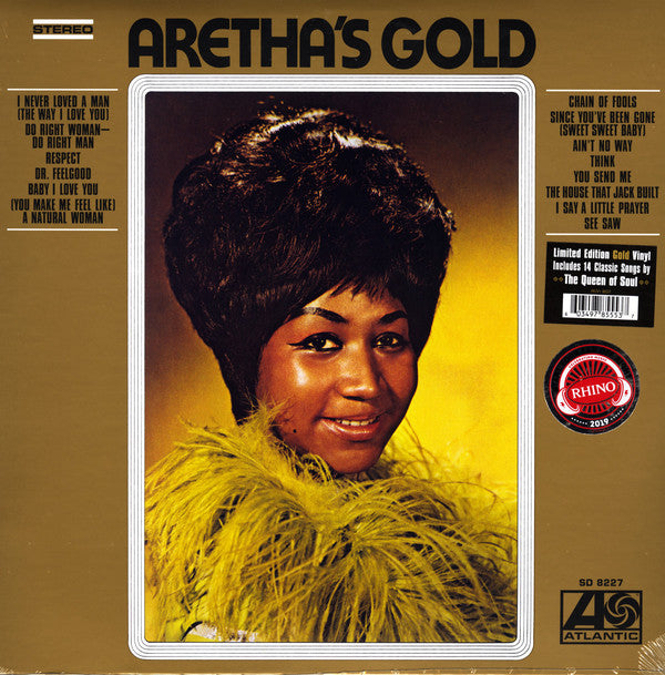 Aretha Franklin - Aretha's Gold (LP, Gold Vinyl, Limited Edition)