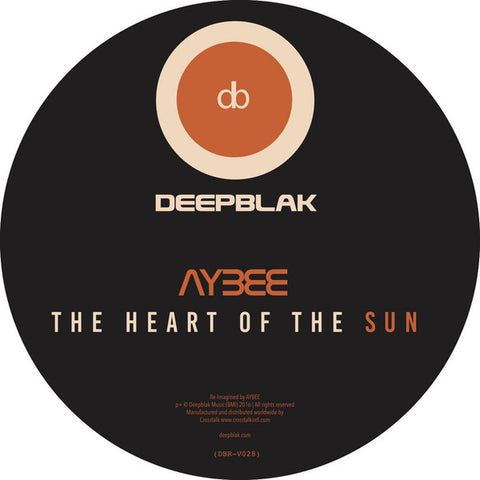 "Aybee - The Heart Of The Sun (12"", Orange Vinyl)"