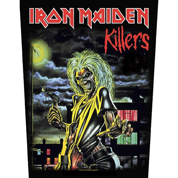 Iron Maiden - Killers (Backpatch)