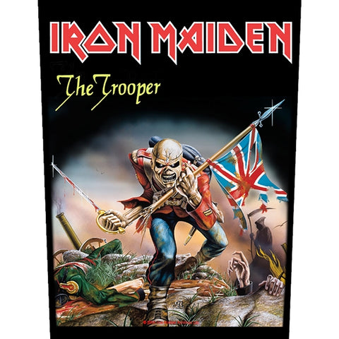 Iron Maiden - The Trooper (Backpatch)