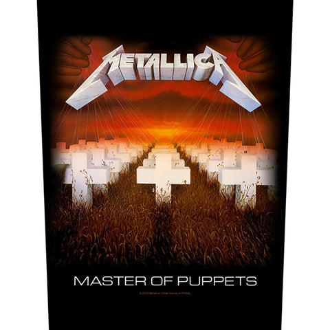 Metallica - Master of Puppets (Backpatch)